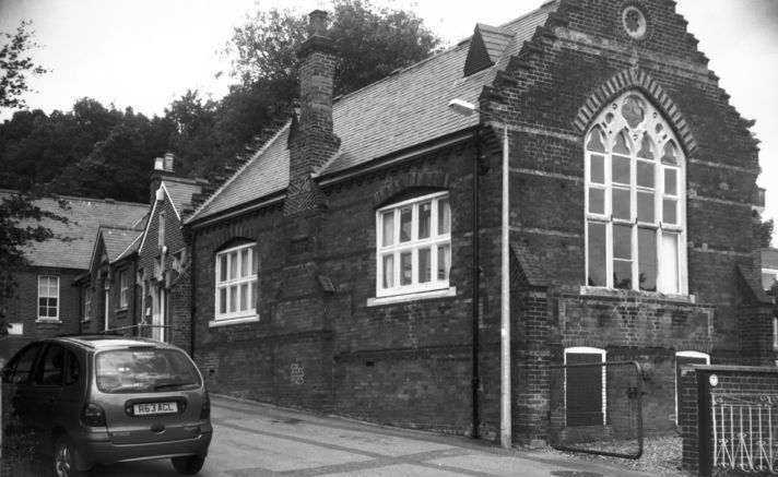 Historic Image of Thorpe's first school