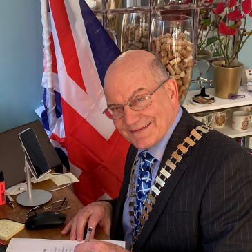 Town Mayor Signs Armed Forces Covenant