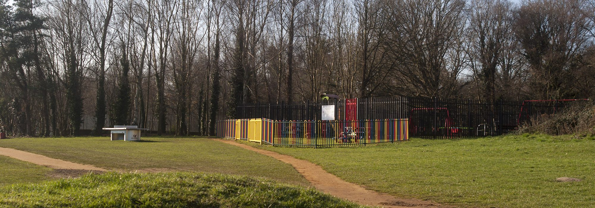 Play park near Town Hall
